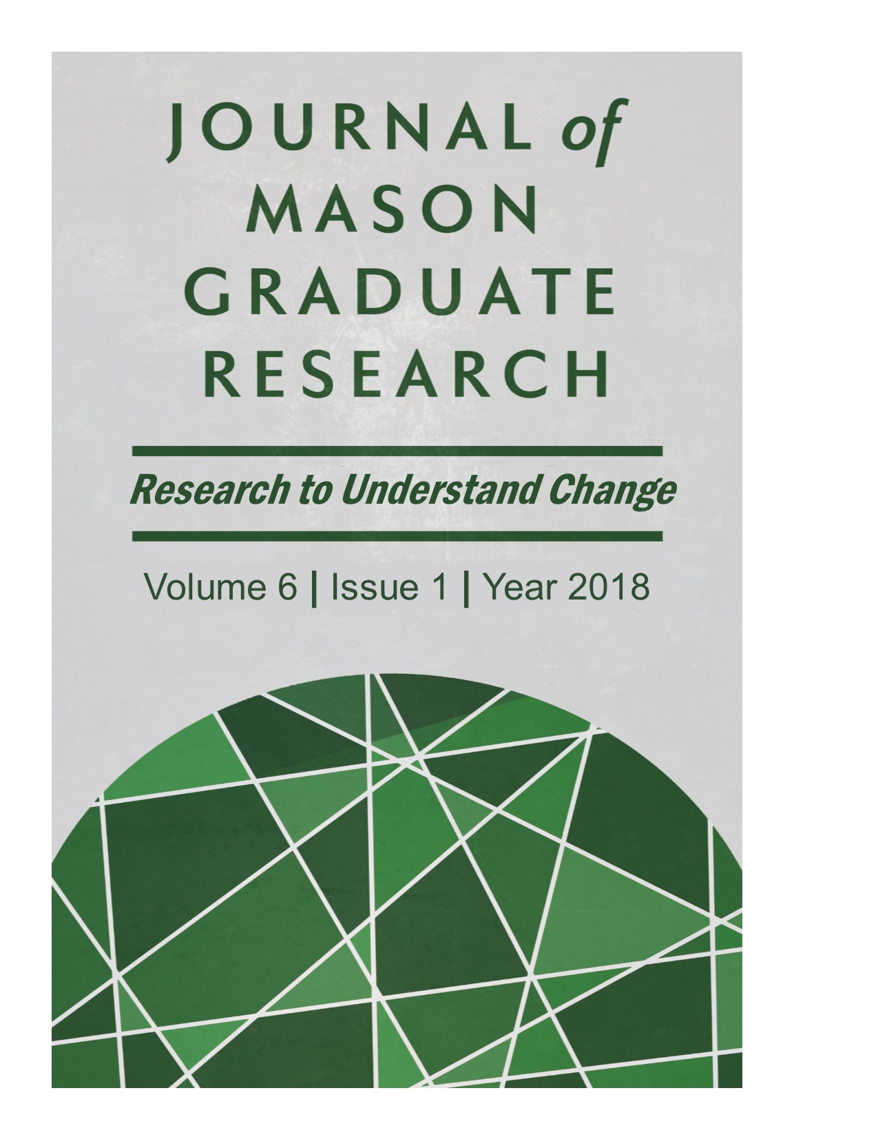 Journal of Mason Graduate Research, Volume 6, Issue 1, 2018
